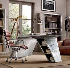 office desk hardware. this metal desk has a slight aviation feel to it and provides cool contrast office hardware i