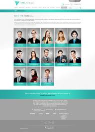 Ari Website Design Modern Elegant Information Technology Web Design For A