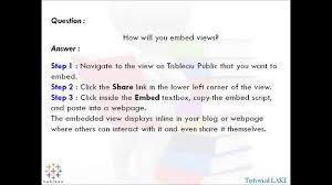 how to answer why should we hire you video dailymotion tableau interview questions answers part 41 of 100
