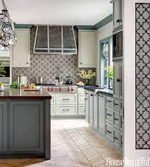 Kitchen Tile Pattern Kitchen Tile Design Large Dream Kitchen With Dark Wood Cabinets