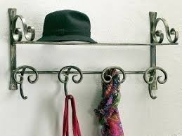 24 Inch Coat Rack Wall Mounted Coat Racks With Shelf Foter 62
