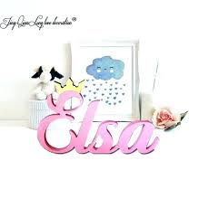 wooden name letters wooden name letters for wall standing name with princess crown kids personalized wooden