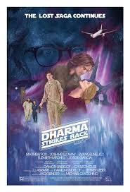 jj harrison illustrator lost in star wars dharma strikes back hurley edition