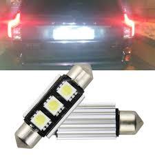 Volvo S40 Lights 2pcs Canbus Led License Plate Light For Volvo S40 V50 V70 C30 C70 70 S80 Xc90 S60 12v Car Lighting Source
