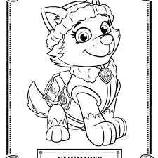 Picture Christmas Paw Patrol Coloring Pages 29 Nick Jr With Film