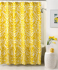 Macys Curtains For Living Room Trina Turk Bath Ikat Shower Curtain Shower Curtains
