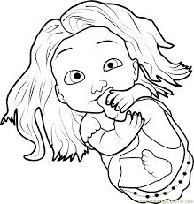 Small Picture Baby Rapunzel Coloring Page Free Tangled Coloring Pages