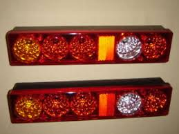 pair recovery rear truck trailer tail lights caravan camper image is loading pair recovery rear truck trailer tail lights caravan