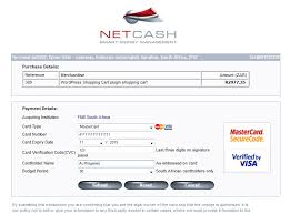 wordpress shopping carts wordpress shopping cart plugin netcash payment gateway