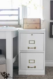 File Cabinet Paint How To Paint A Filing Cabinet The Wood Grain Cottage