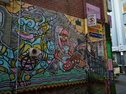 >melbourne city street art and graffiti tour walking maps 5 rankins lane