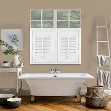 blinds for bathroom window. Café Style Hampton Express Vivid White Blinds For Bathroom Window