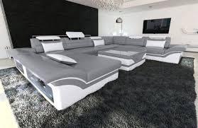 Xxl Wohnlandschaft Enzo Leder In 2019 Wohnen Sofa Design