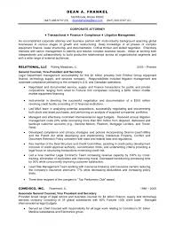 Corporatewyer Cv Example Uk Counsel Resume Sample General Examples