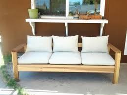 diy outdoor sofa. Wood 2x4 Outdoor Sofa Couch Free Plans Diy Simple Easy Cheap Strong Deck Patio Backyard ANA