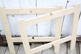diy space saving furniture. DIY Space Saving Folding Side Table Diy Furniture