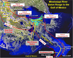 Army Corps Of Engineers Lower Mississippi River Navigation Charts Dredging Mississippi River To 50 Feet Clears Corps Approval