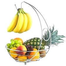 modern fruit holder modern fruit bowl with banana hanger fruit bowl with banana hook fruit bowl