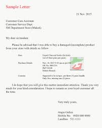 Sample Claim Letter Lost Shipment Complaint Road Transporters