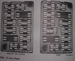 64 gal fusebox help needed ford muscle forums ford muscle cars click image for larger version 64 ford mercury fuse panel pic jpg