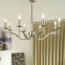 interiors 1900 stanford 8 light ceiling light polished nickel ca1p8n