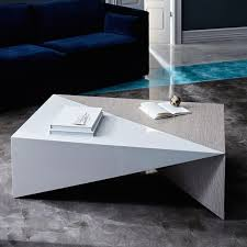 Faceted Lacquer Coffee Table