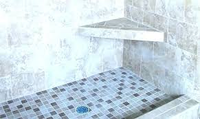 better bench shower marble corner seat showers built in best design ideas remodel pictures photo height