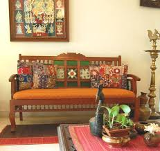 simple traditional indian living room