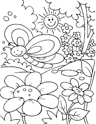 Coloring Pages For Spring Spring Colouring Pictures Spring Colouring