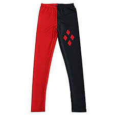 dhmart y superhero deadpool reaper batman printed elastic fitness polyester workout women leggings pants plus