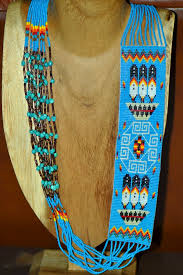 navajo bead designs. This Beautiful Beaded Prayer Feather And Rug Pattern Necklace Is Created By Susan Black, Navajo Bead Designs E