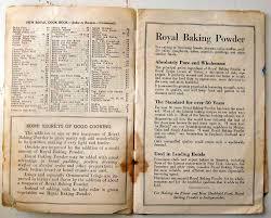 1922 royal baking powder recipe book