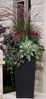 Small Picture The 25 best Tall planters ideas on Pinterest Outdoor potted