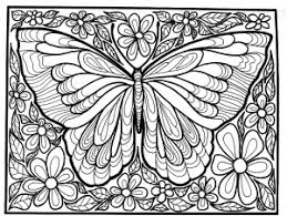 Here you can find numerous butterfly coloring pages that can be easily printed for free. Butterflies Coloring Pages For Adults
