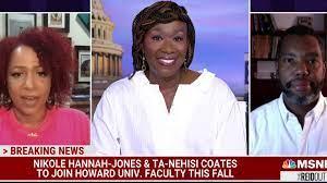 Nikole Hannah-Jones and Ta-Nehisi ...