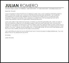 prep cook cover letter sample cook cover letter
