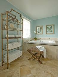 bathroom wall colors with beige tile shower