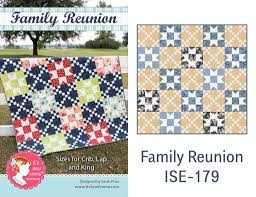 New Quilt Patterns from It's Sew Emma various size options & Family Reunion quilt Adamdwight.com