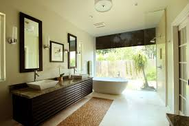 Modern Luxury Master Bathroom Wall Mounted Square Porcelain Right