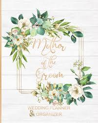 Mother Of The Groom Wedding Planner Organizer Large Roses