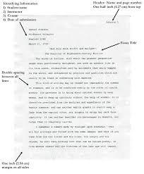 essay apa format sample research paper format example apa
