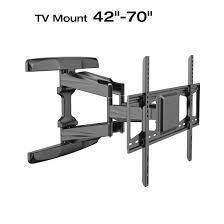 loctek l5l ul certificate black full motion interactive articulating tv wall mount