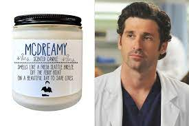 Grey's Anatomy Gifts: Dr. McDreamy-Scented Candle