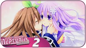 The animation is a 2013 japanese anime television series based on the hyperdimension neptunia video game series although featuring a storyline independent of the games themselves. Hyperdimension Neptunia Re Birth 2 Pc Let S Play A Transforming Kiss Part 2 Youtube