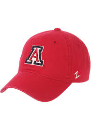 Zhats Size Chart Zephyr Arizona Wildcats Scholarship Adjustable Hat Red 5351725