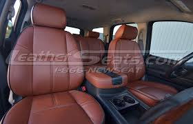 chevrolet tahoe leather interiors
