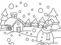 Small Picture Winter Wonderland Coloring Pages New zimeonme