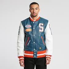 vanson leathers letterman jacket