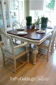 Painted Dining Room Table Dining Room Table Makeover Painted Dining Amazing Paint Dining Room Table Property