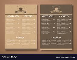 Design A Menu Free Design A Menu For The Cafe Shops Or Caffeine In A